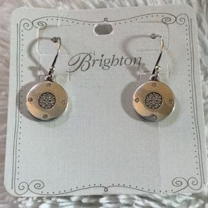 NWT 🤩 Brighton Contempo Ice reversible earrings